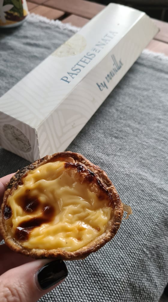 pasteis de nata vanilla
